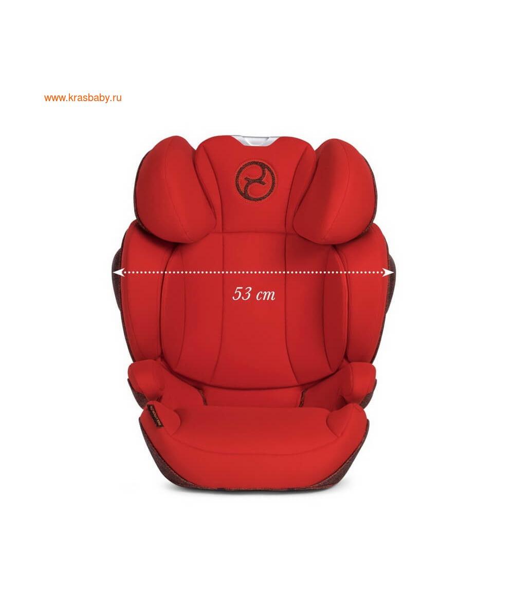 Автокресло CYBEX Solution Z-Fix Ferrari (15-36 кг) (фото, вид 25)