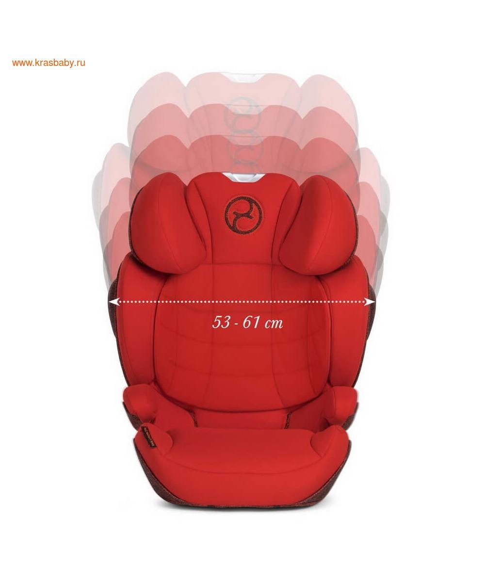 Автокресло CYBEX Solution Z-Fix Ferrari (15-36 кг) (фото, вид 26)