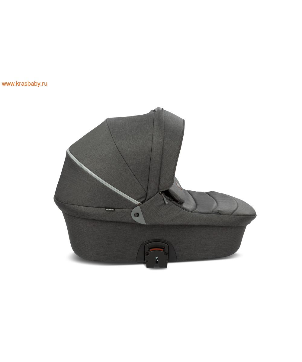 Коляска модульная NOORDI Fjordi Sport NEW Black (с термолюлькой) (фото, вид 10)