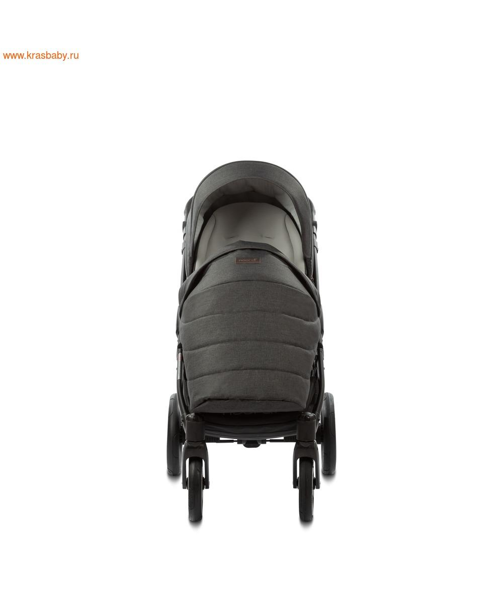Коляска модульная NOORDI Fjordi Sport NEW Black (с термолюлькой) (фото, вид 19)