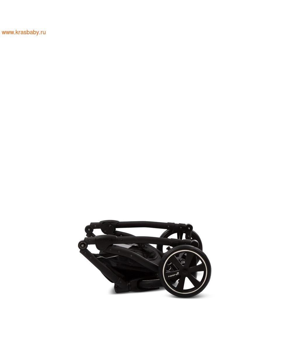 Коляска модульная NOORDI Fjordi Sport NEW Black (с термолюлькой) (фото, вид 30)