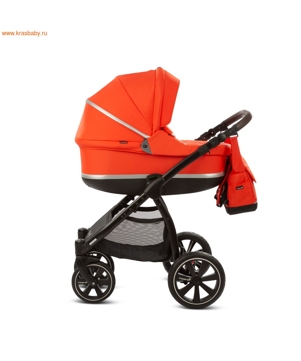 Коляска модульная NOORDI Sole Sport NEW Orange Red (фото, вид 11)