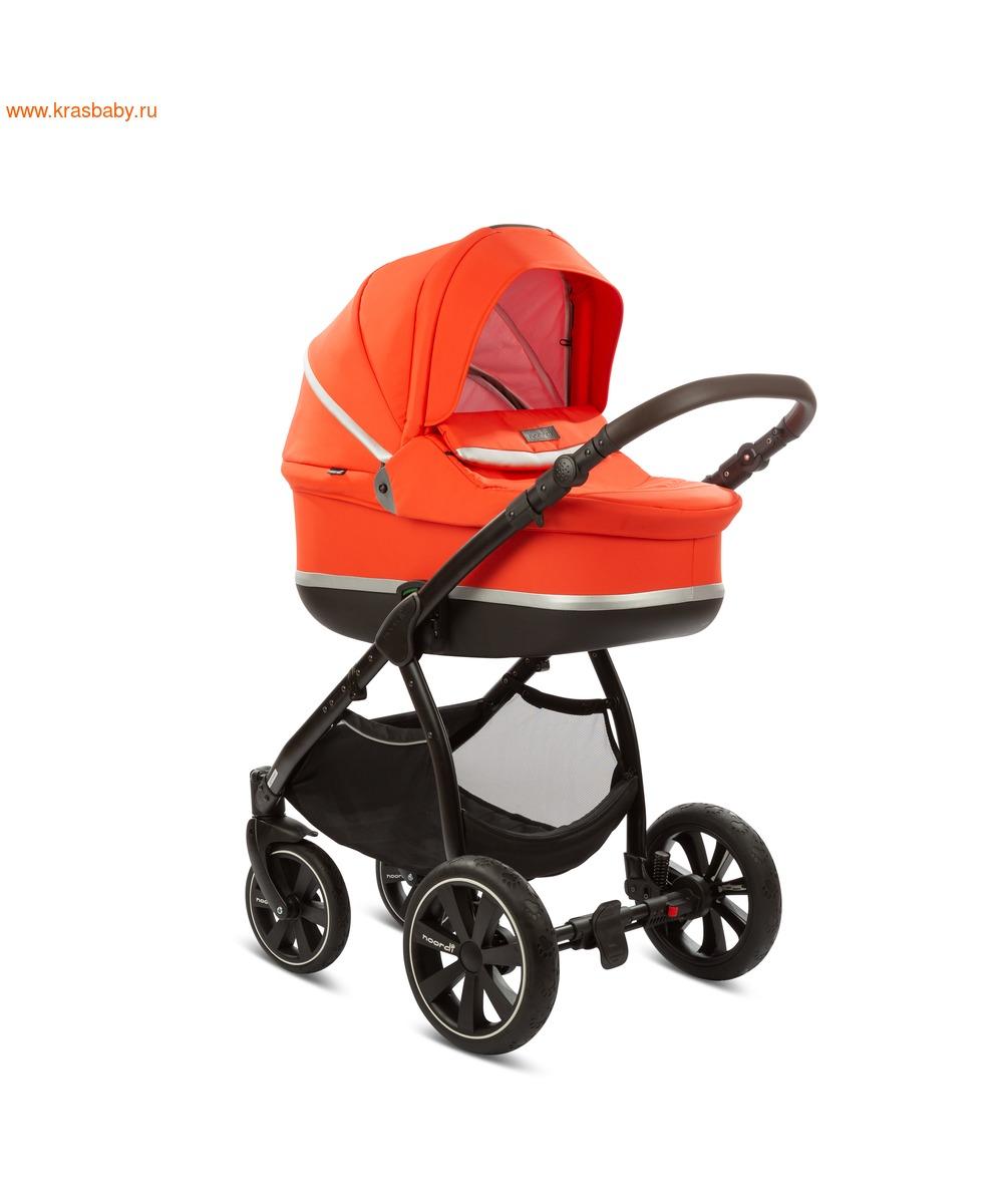 Коляска модульная NOORDI Sole Sport NEW Orange Red (фото, вид 12)