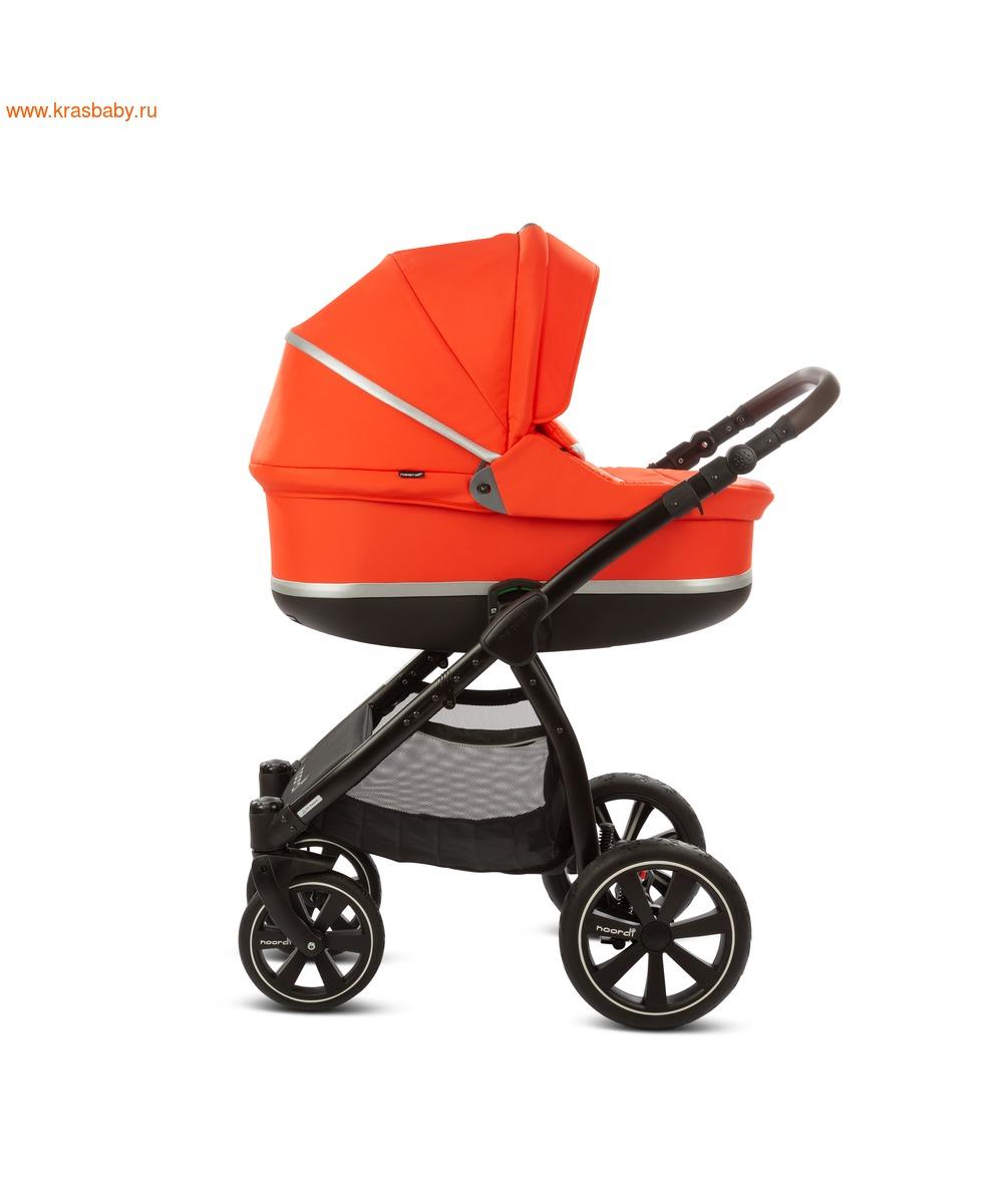 Коляска модульная NOORDI Sole Sport NEW Orange Red (фото, вид 13)