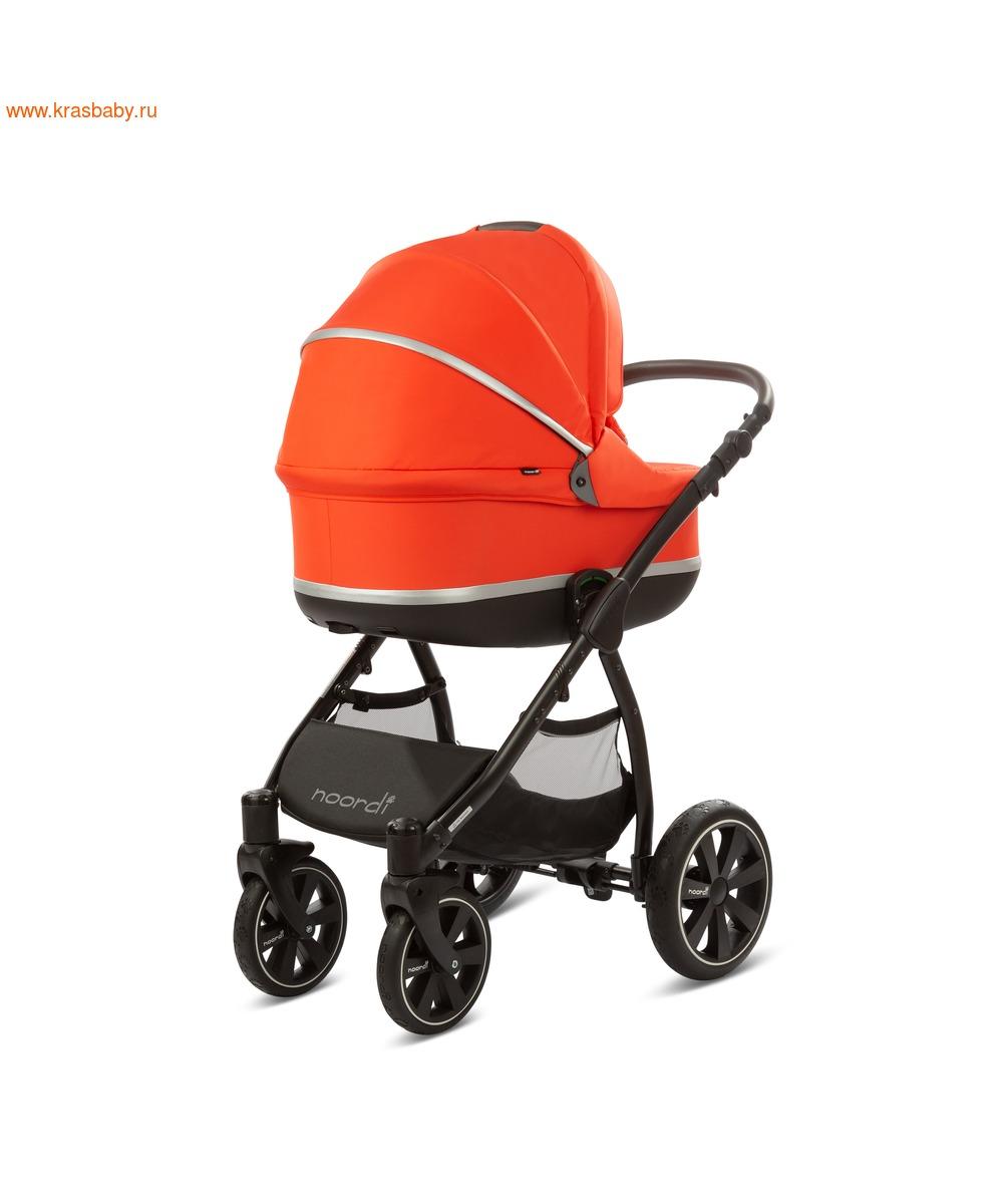 Коляска модульная NOORDI Sole Sport NEW Orange Red (фото, вид 14)