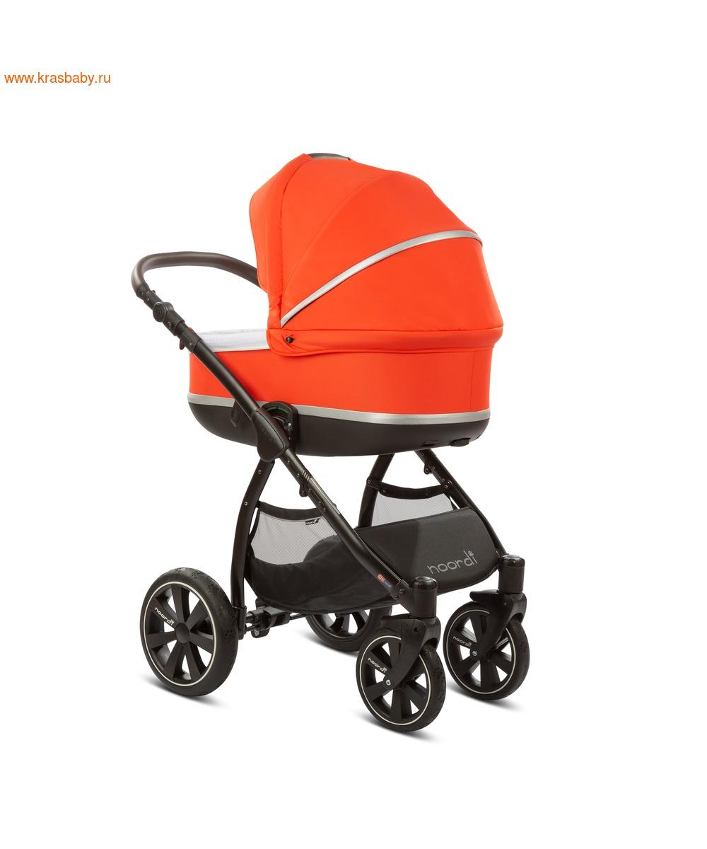 Коляска модульная NOORDI Sole Sport NEW Orange Red (фото, вид 15)