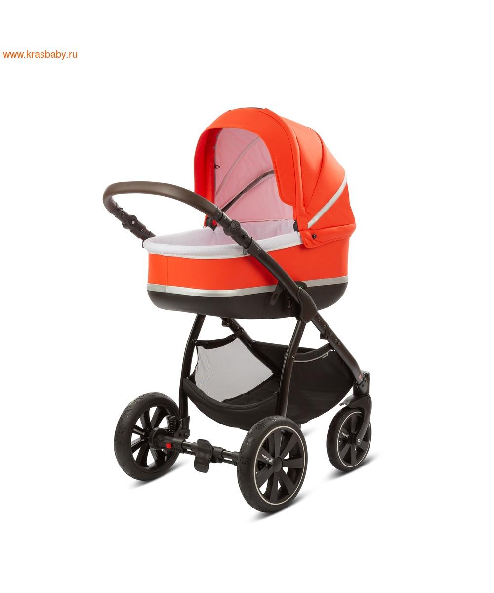 Коляска модульная NOORDI Sole Sport NEW Orange Red (фото, вид 16)