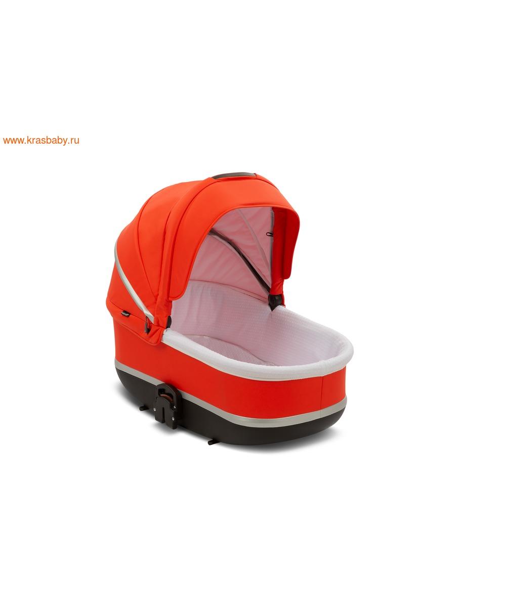 Коляска модульная NOORDI Sole Sport NEW Orange Red (фото, вид 18)