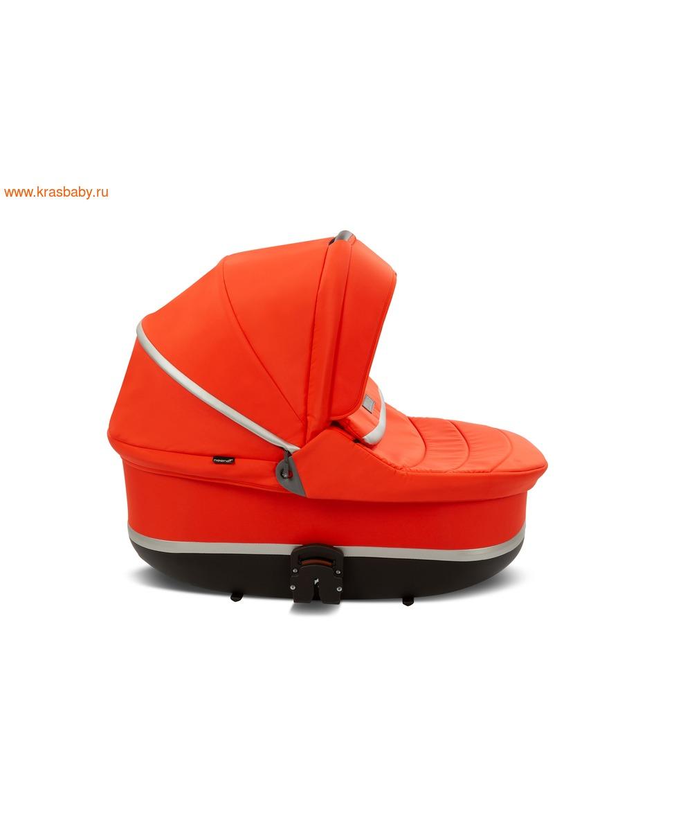 Коляска модульная NOORDI Sole Sport NEW Orange Red (фото, вид 19)