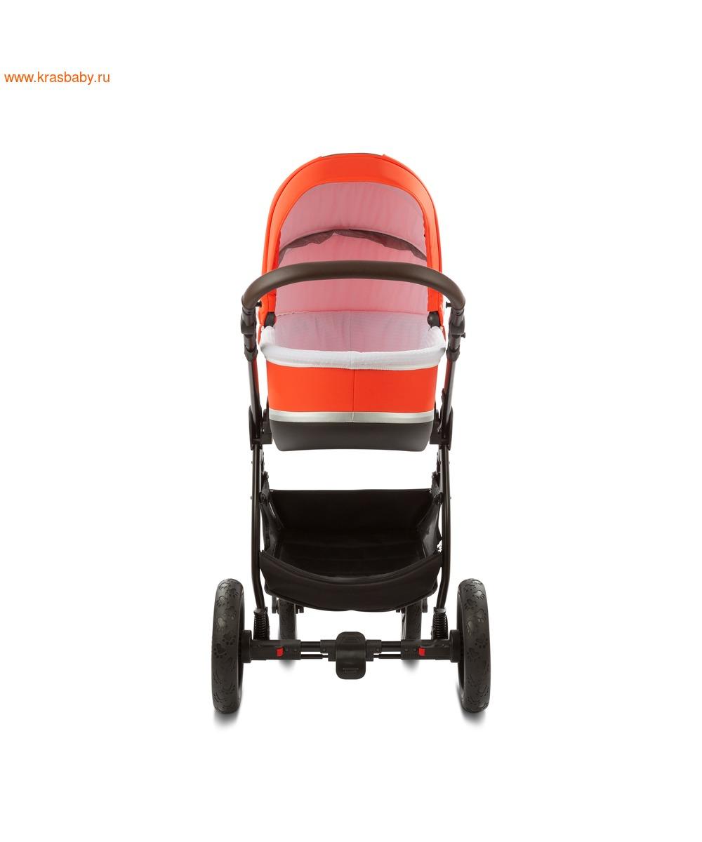 Коляска модульная NOORDI Sole Sport NEW Orange Red (фото, вид 21)