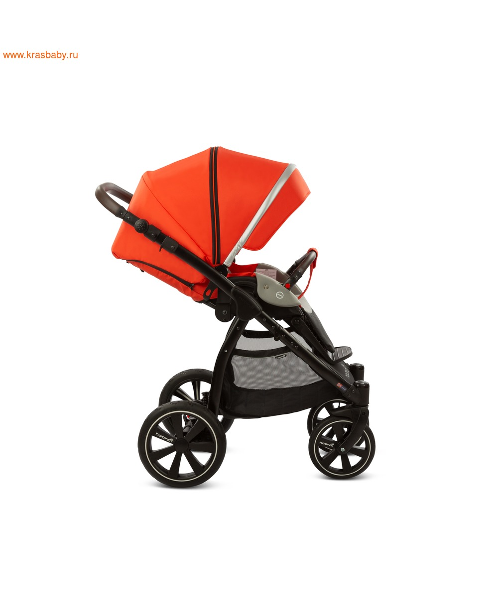 Коляска модульная NOORDI Sole Sport NEW Orange Red (фото, вид 22)