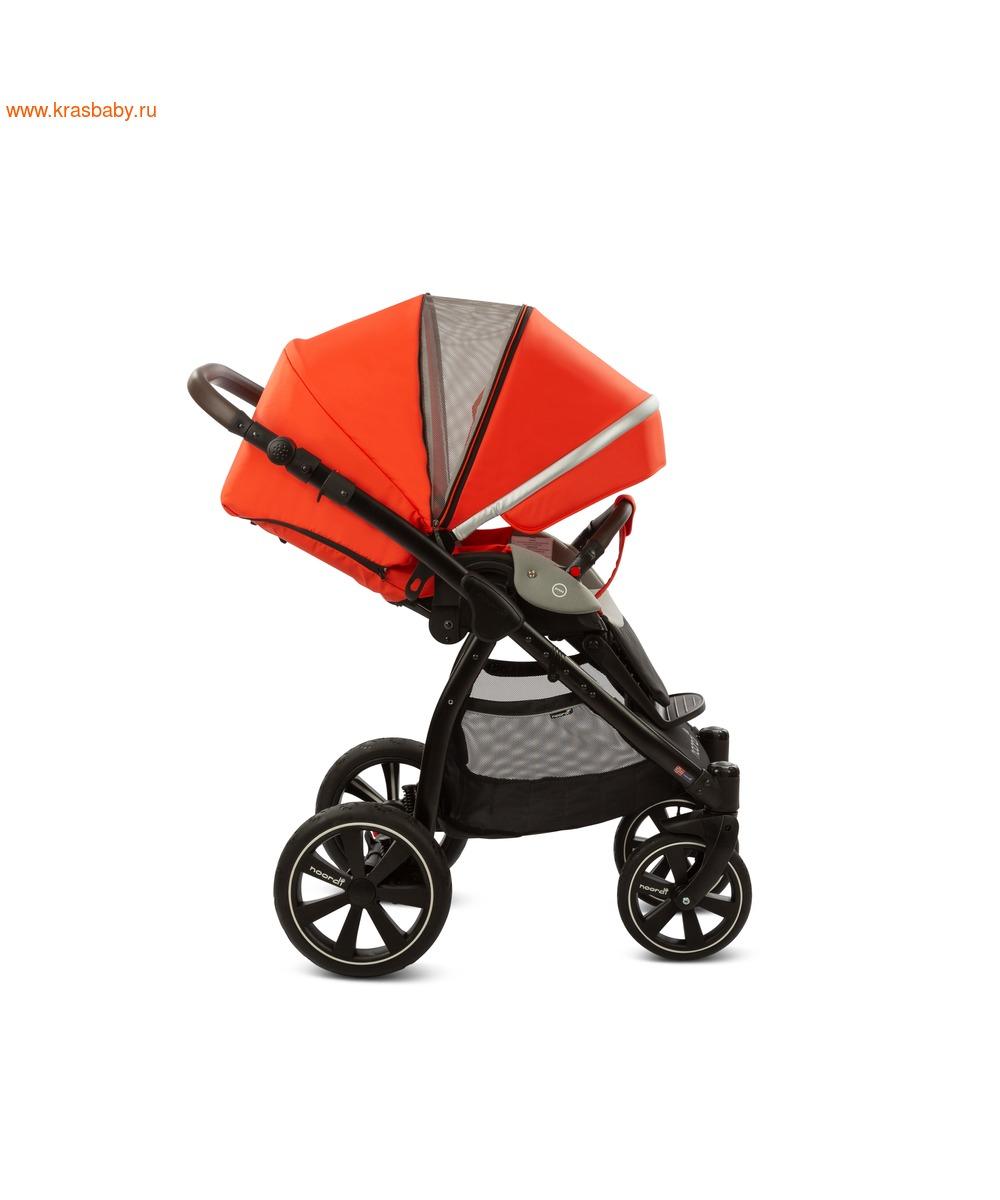 Коляска модульная NOORDI Sole Sport NEW Orange Red (фото, вид 24)