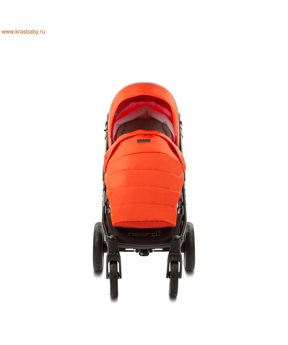 Коляска модульная NOORDI Sole Sport NEW Orange Red (фото, вид 26)