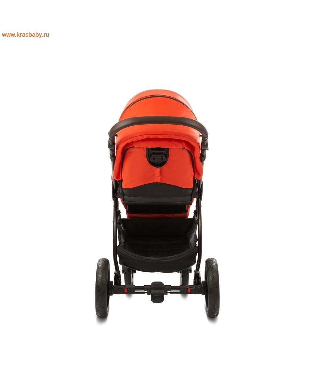 Коляска модульная NOORDI Sole Sport NEW Orange Red (фото, вид 27)