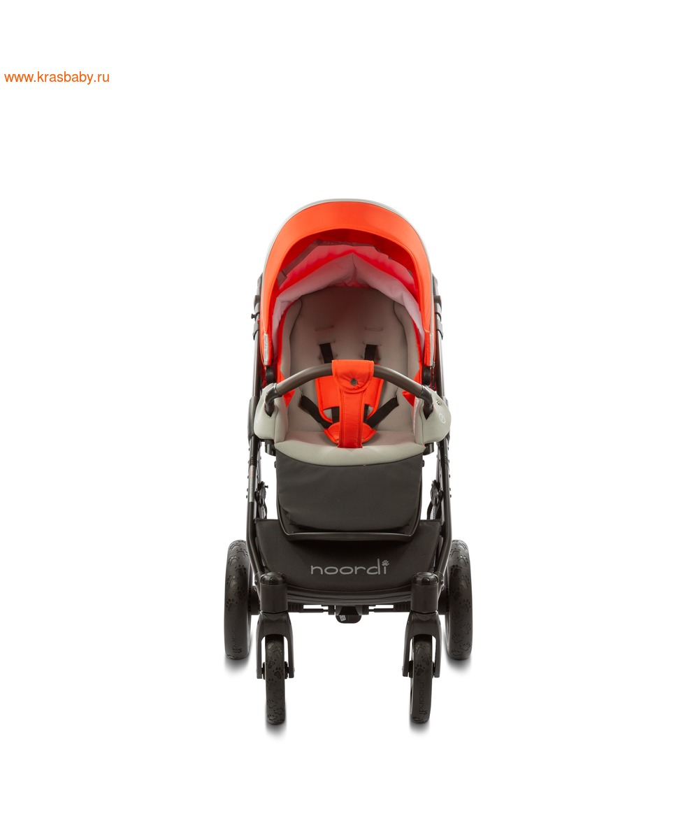Коляска модульная NOORDI Sole Sport NEW Orange Red (фото, вид 28)