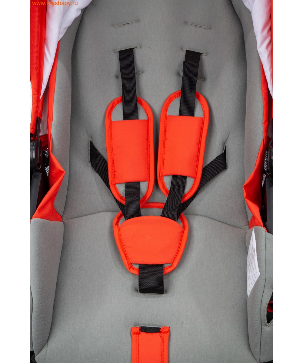Коляска модульная NOORDI Sole Sport NEW Orange Red (фото, вид 29)