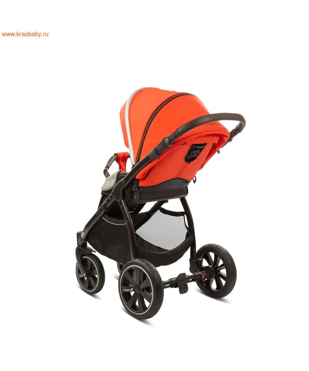 Коляска модульная NOORDI Sole Sport NEW Orange Red (фото, вид 30)