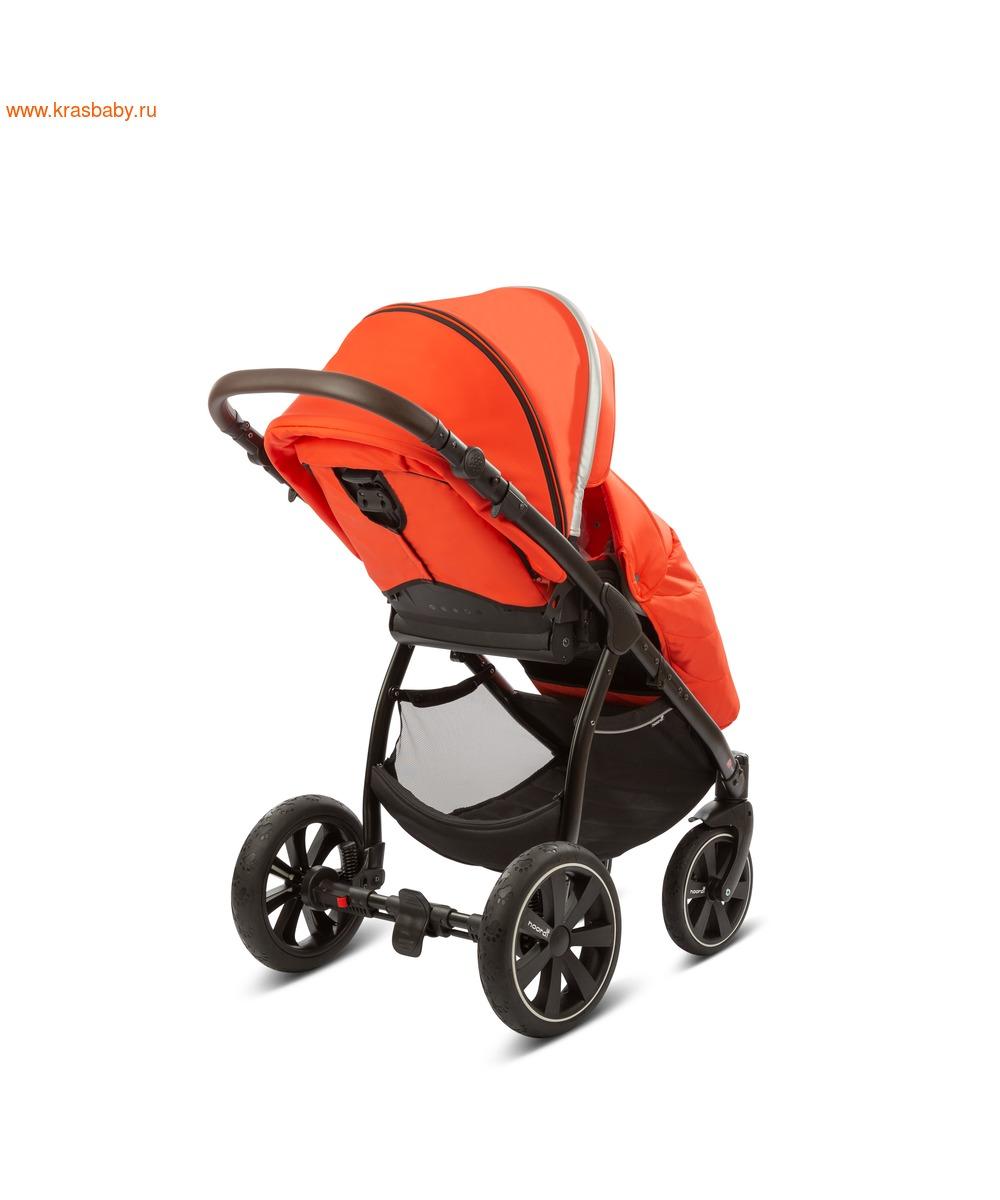 Коляска модульная NOORDI Sole Sport NEW Orange Red (фото, вид 31)