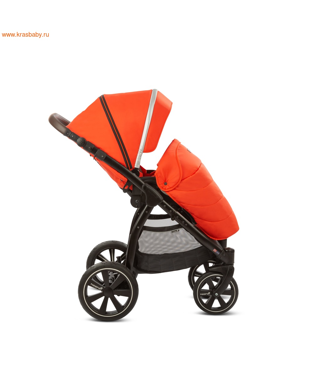Коляска модульная NOORDI Sole Sport NEW Orange Red (фото, вид 32)