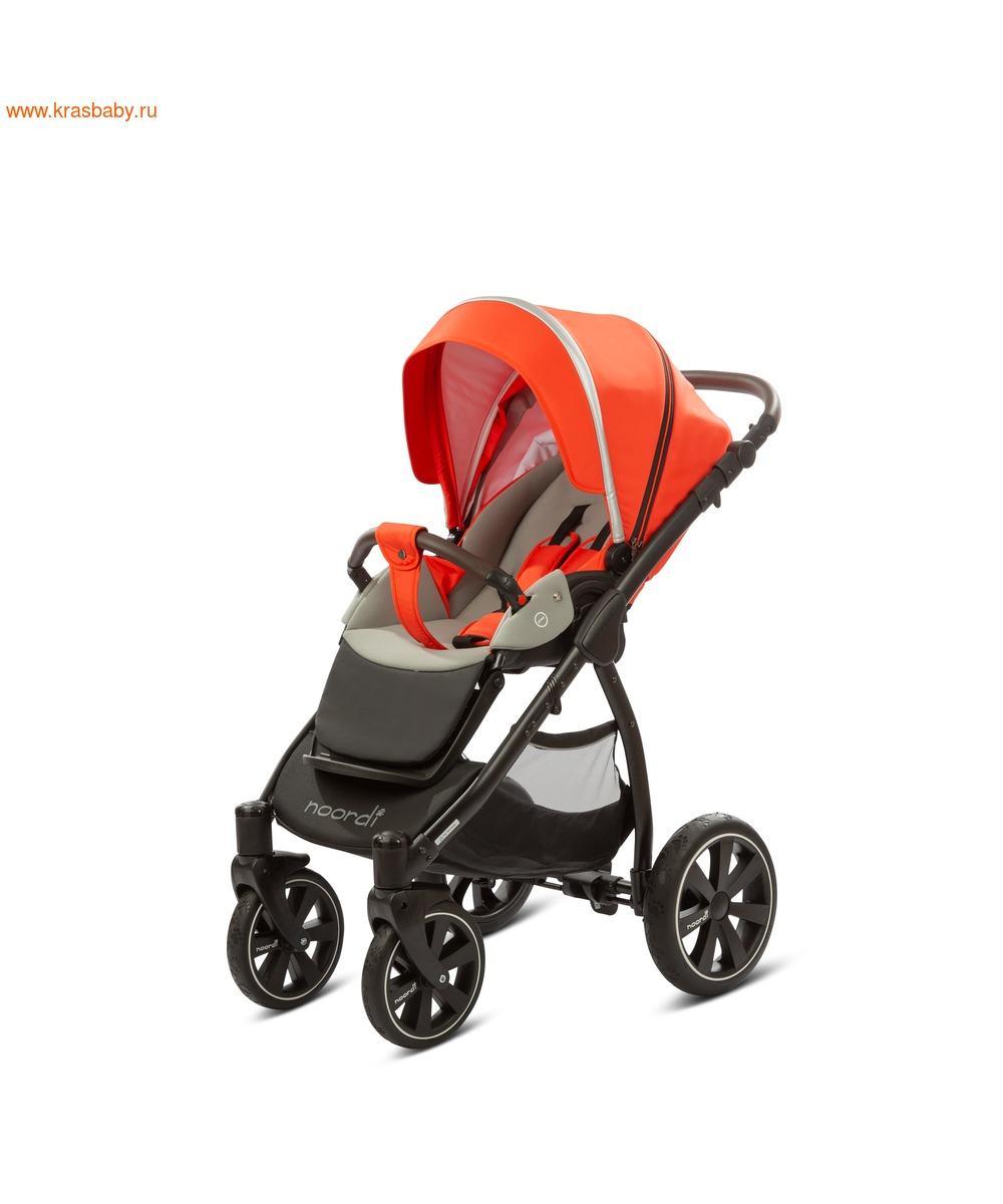 Коляска модульная NOORDI Sole Sport NEW Orange Red (фото, вид 34)