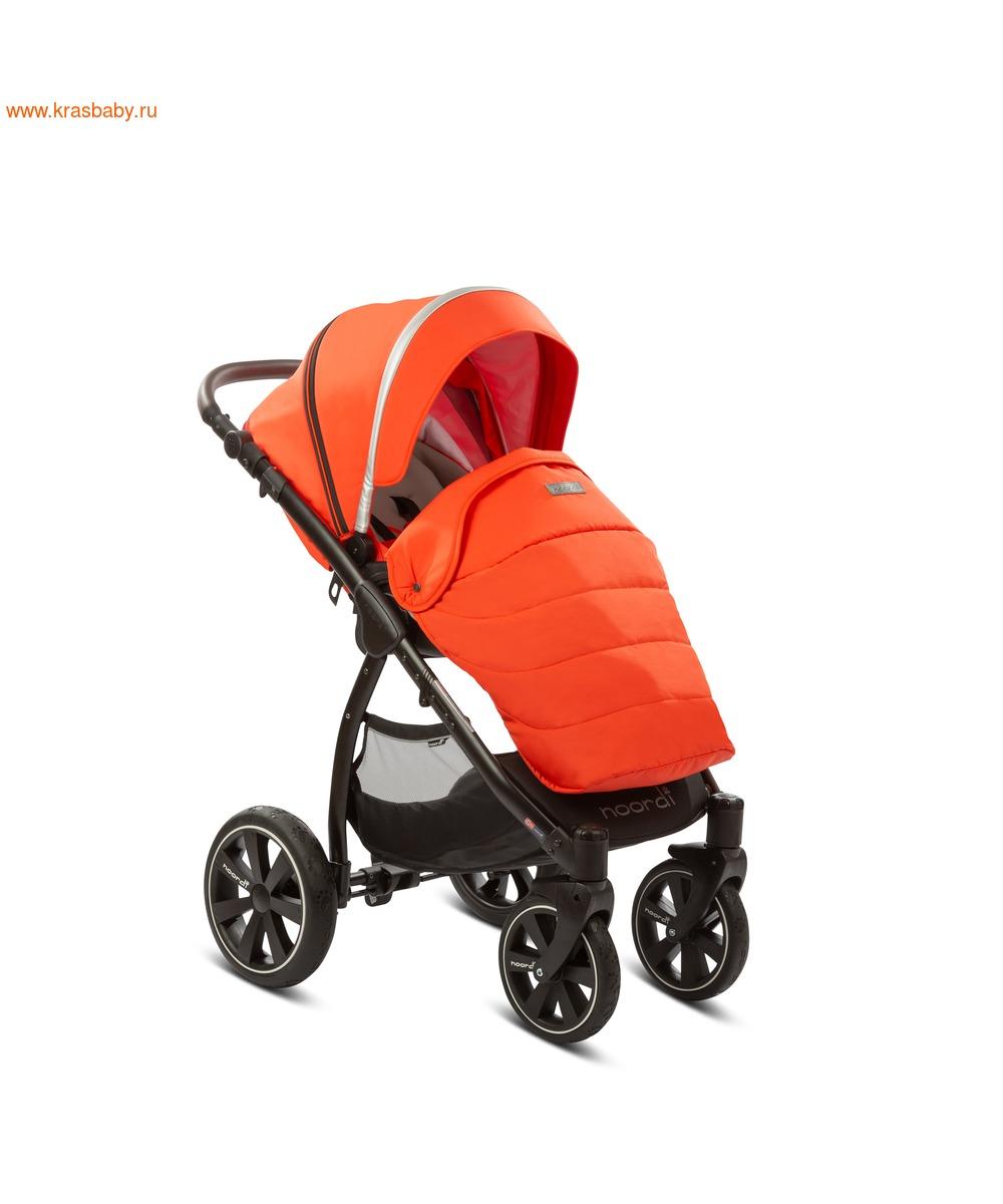 Коляска модульная NOORDI Sole Sport NEW Orange Red (фото, вид 35)