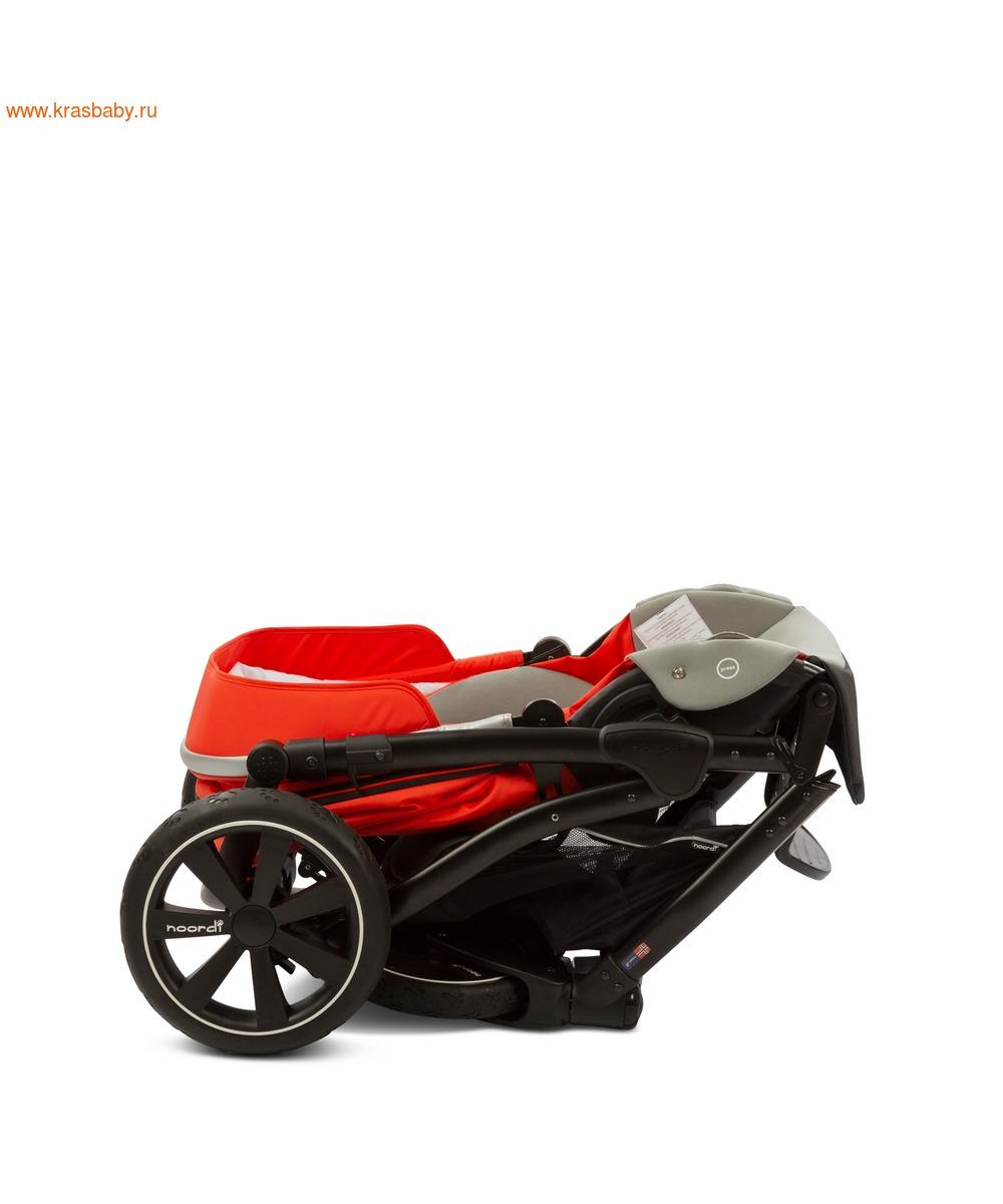 Коляска модульная NOORDI Sole Sport NEW Orange Red (фото, вид 36)