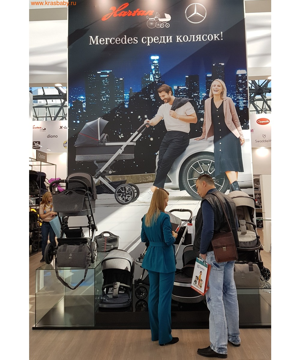 Коляска модульная HARTAN Avantgarde Mercedes-Benz Collection Sport (фото, вид 7)
