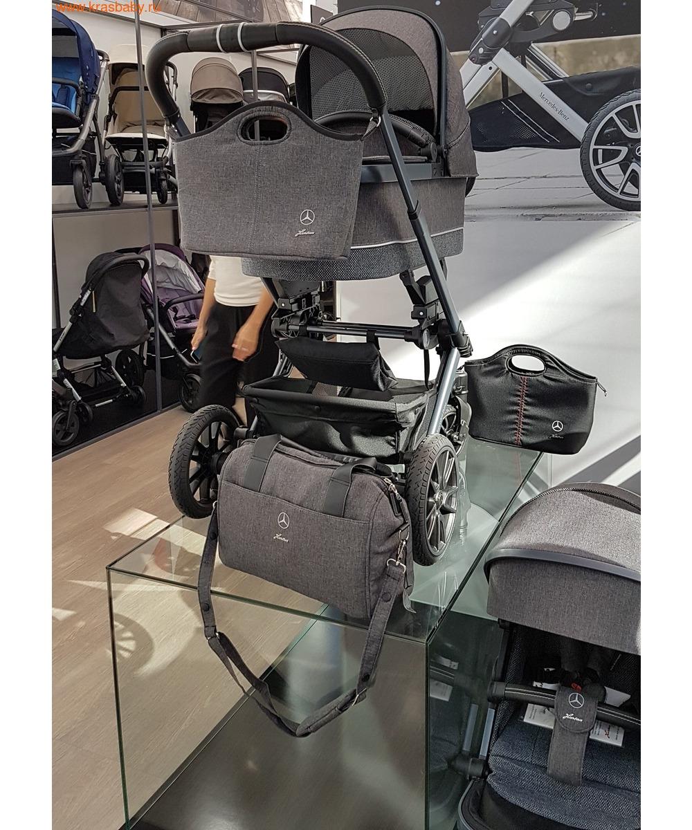 Коляска модульная HARTAN Avantgarde Mercedes-Benz Collection Deep Sea (фото, вид 6)
