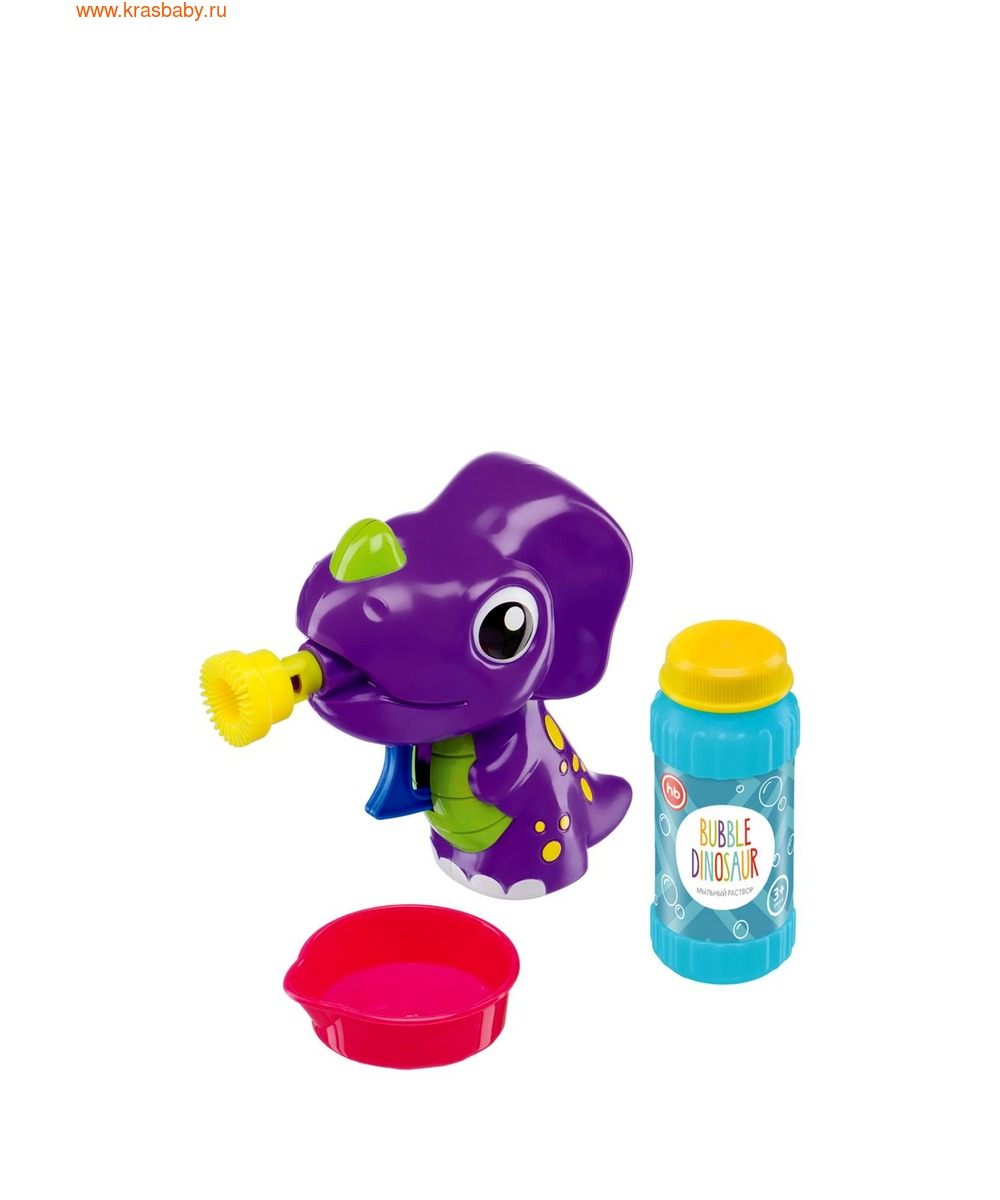 HAPPY BABY Набор для пускания мыльных пузырей BUBBLE DINOSAUR (фото, вид 2)