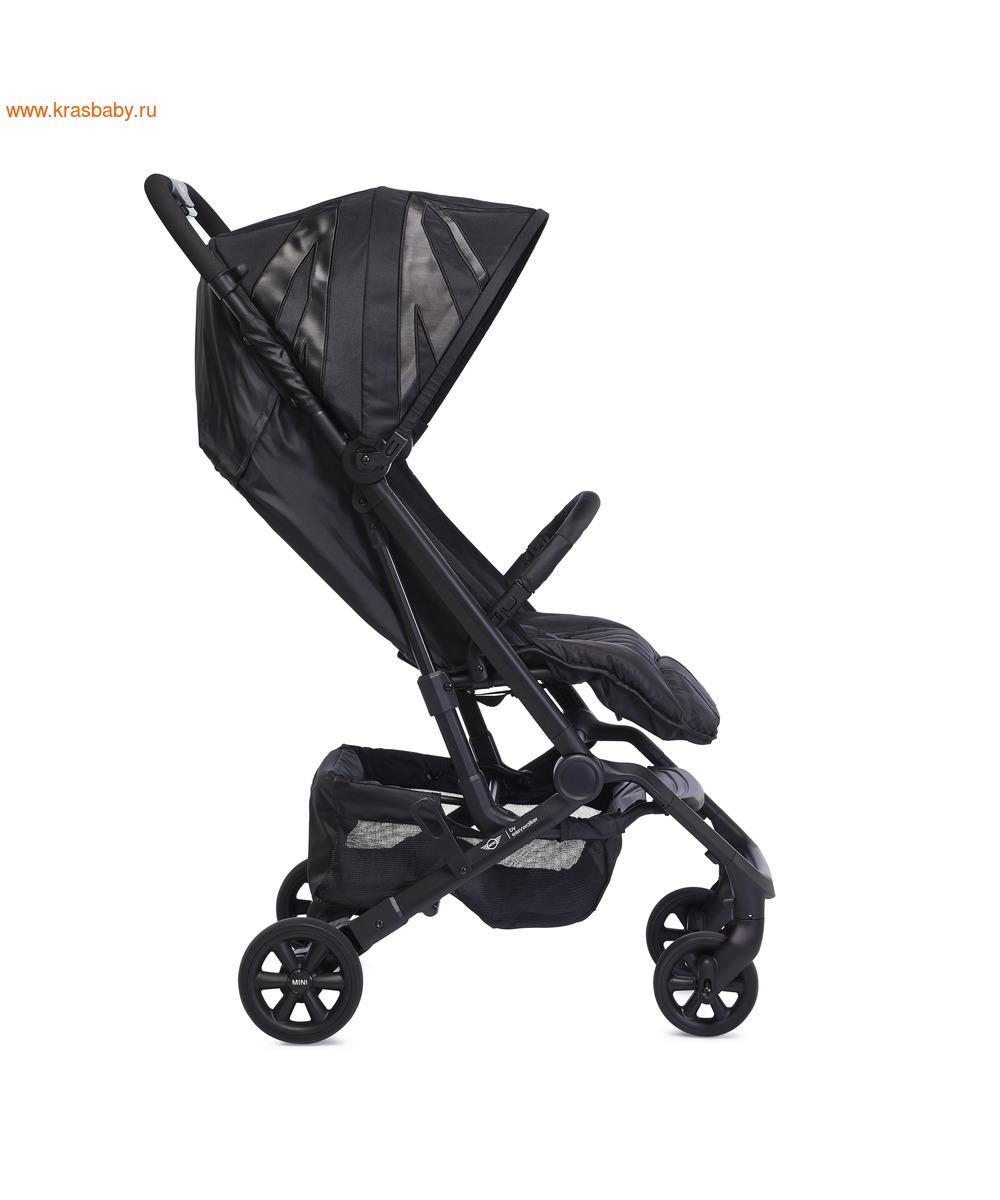 Коляска прогулочная Easywalker MINI Buggy XS (LXRY Black) (фото, вид 1)