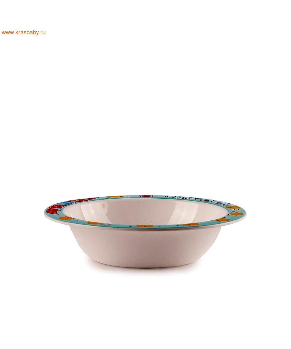 HAPPY BABY Глубокая тарелка FEEDING BOWL (фото, вид 3)