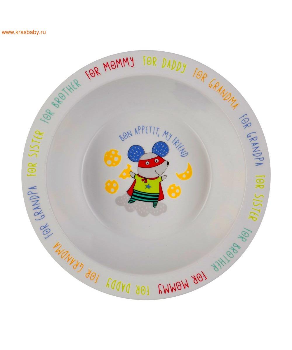 HAPPY BABY Глубокая тарелка FEEDING BOWL (фото, вид 4)