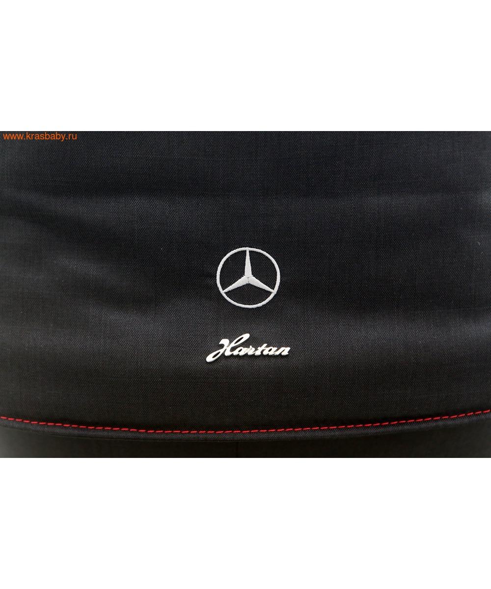 Коляска модульная HARTAN Avantgarde Mercedes-Benz Collection Deep Sea (фото, вид 9)