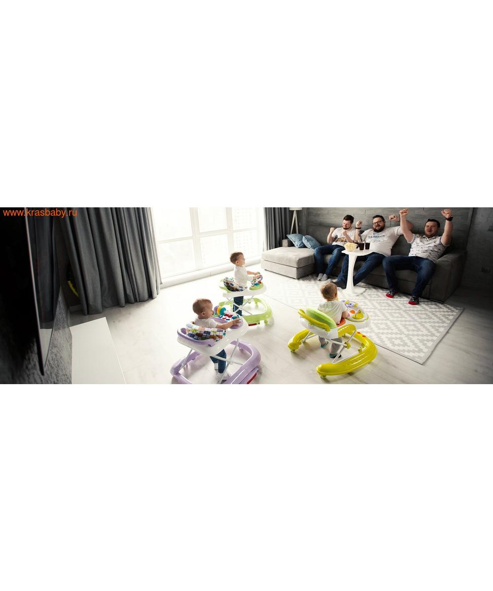 Ходунки детские CARRELLO ETERNO 3 в 1 (фото, вид 4)