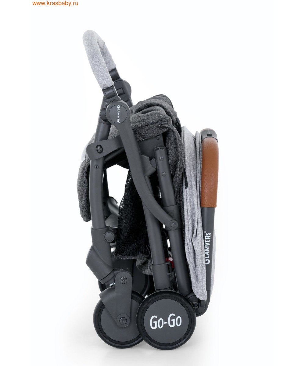 Коляска прогулочная GLAMVERS GO-GO (6,5 кг) (фото, вид 12)