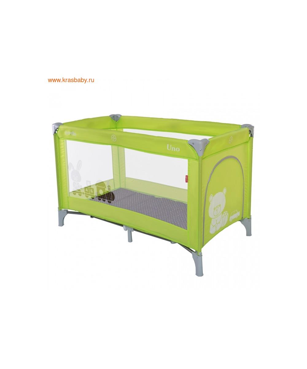 Манеж-кровать CARRELLO UNO (фото, вид 4)