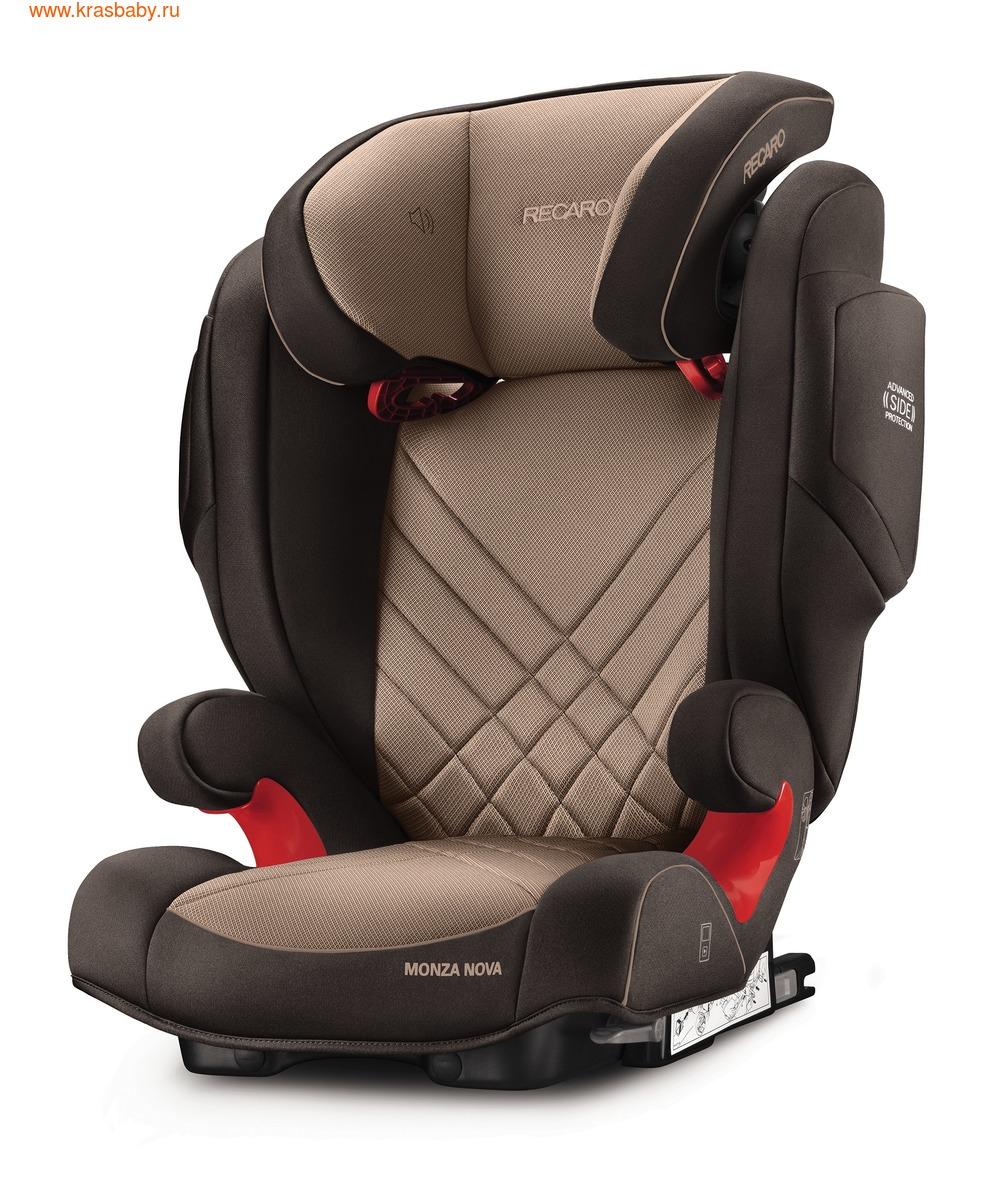 Автокресло RECARO Monza Nova 2 Seatfix (15-36 кг) (фото, вид 3)