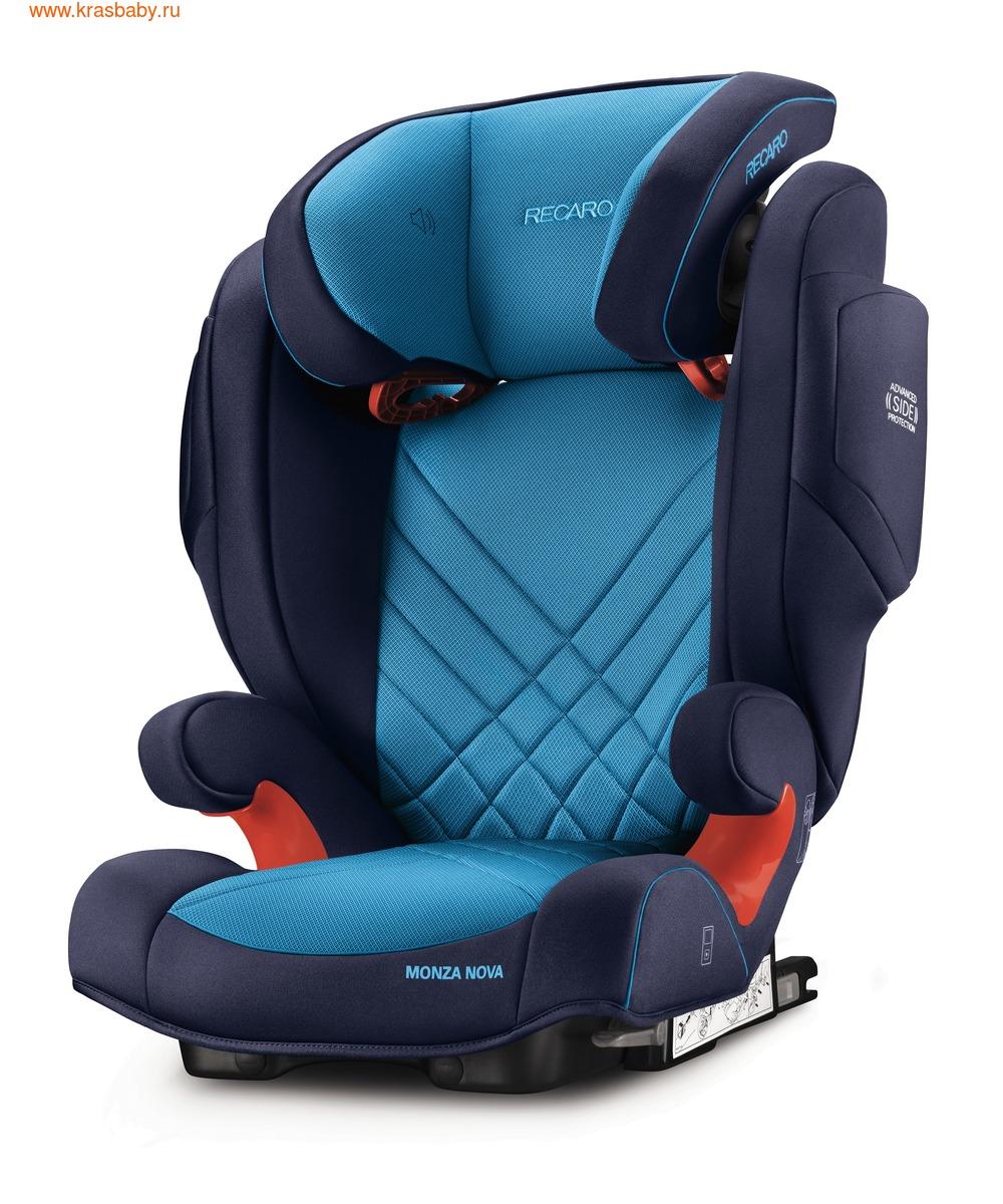 Автокресло RECARO Monza Nova 2 Seatfix (15-36 кг) (фото, вид 7)
