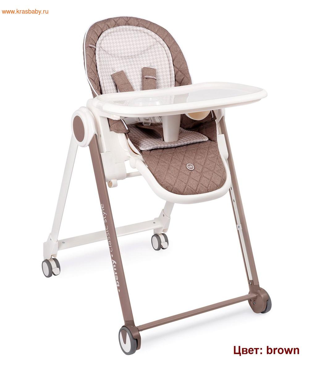 Стульчик для кормления HAPPY BABY BERNY BASIC NEW (фото, вид 3)