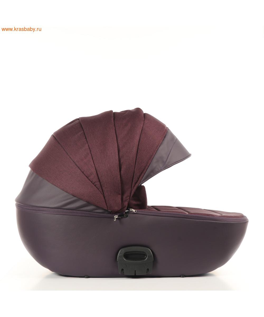 Коляска модульная NOORDLINE VIVA Deluxe Purple (фото, вид 8)