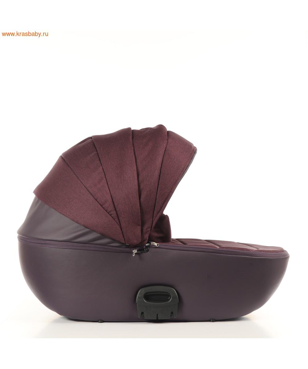 Коляска модульная NOORDLINE VIVA Deluxe Purple (фото, вид 9)