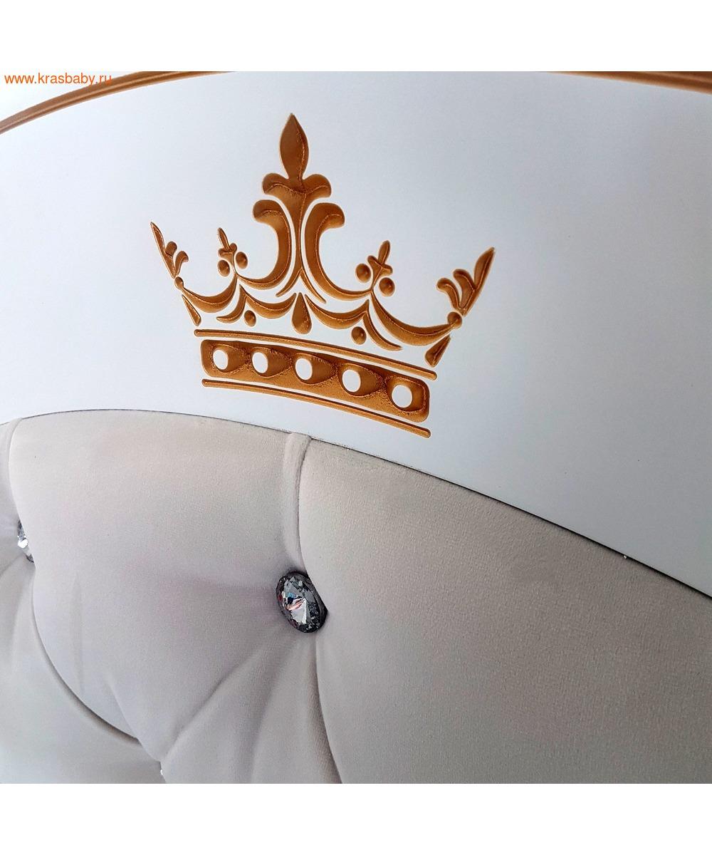 Кроватка GANDYLYAN Габриэлла Люкс Плюс (качалка) (фото, вид 4)