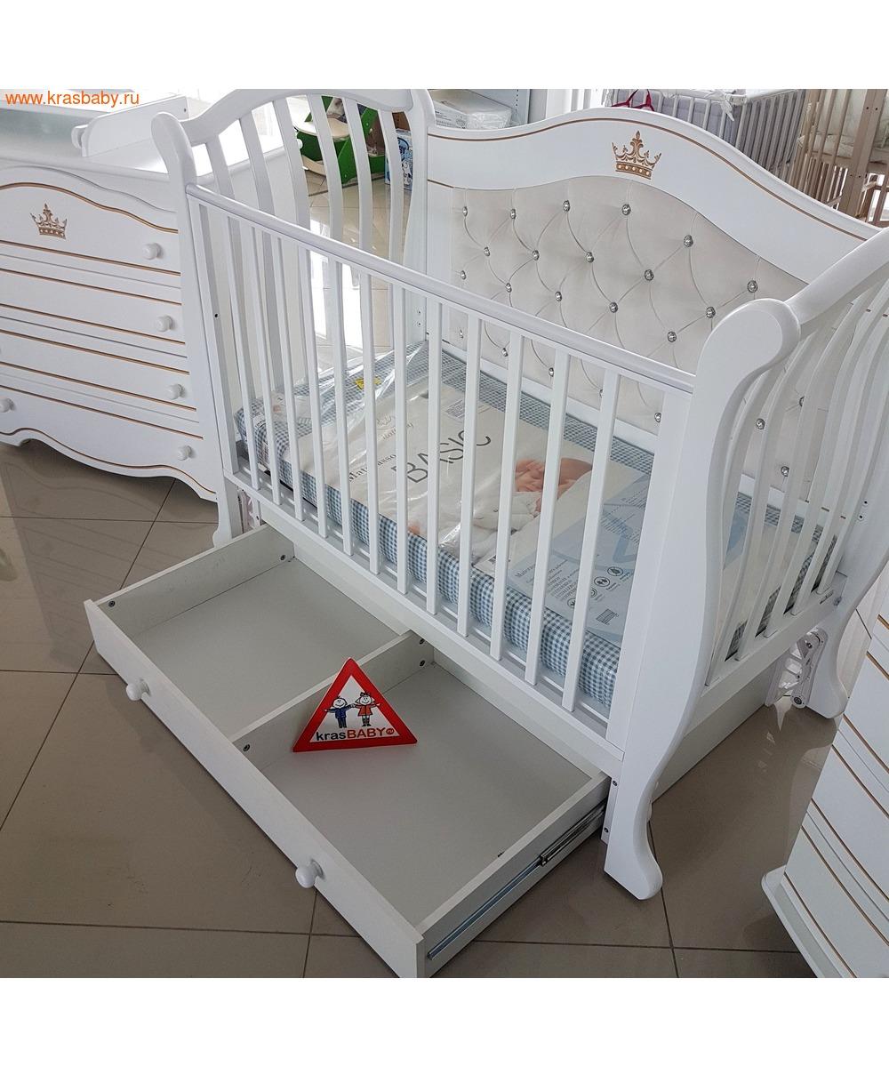 Кроватка GANDYLYAN Габриэлла Люкс Плюс (качалка) (фото, вид 3)