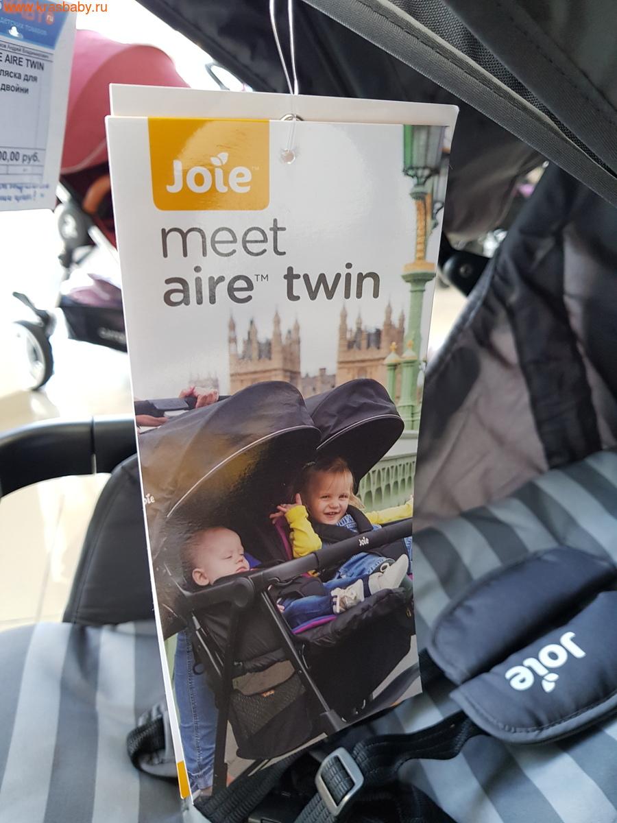 Коляска для двойни JOIE AIRE TWIN (10,4кг) (фото,  Коляска для двойни JOIE AIRE TWIN)