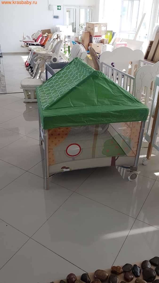 Манеж HAPPY BABY ALEX HOME (со светильником) (фото, вид 3)