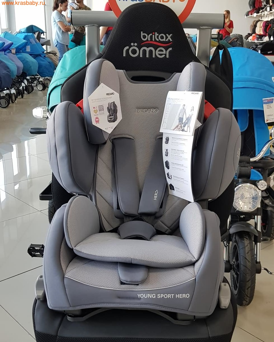 Автокресло RECARO Young Sport Hero (9-36 кг) (фото, вид 2)