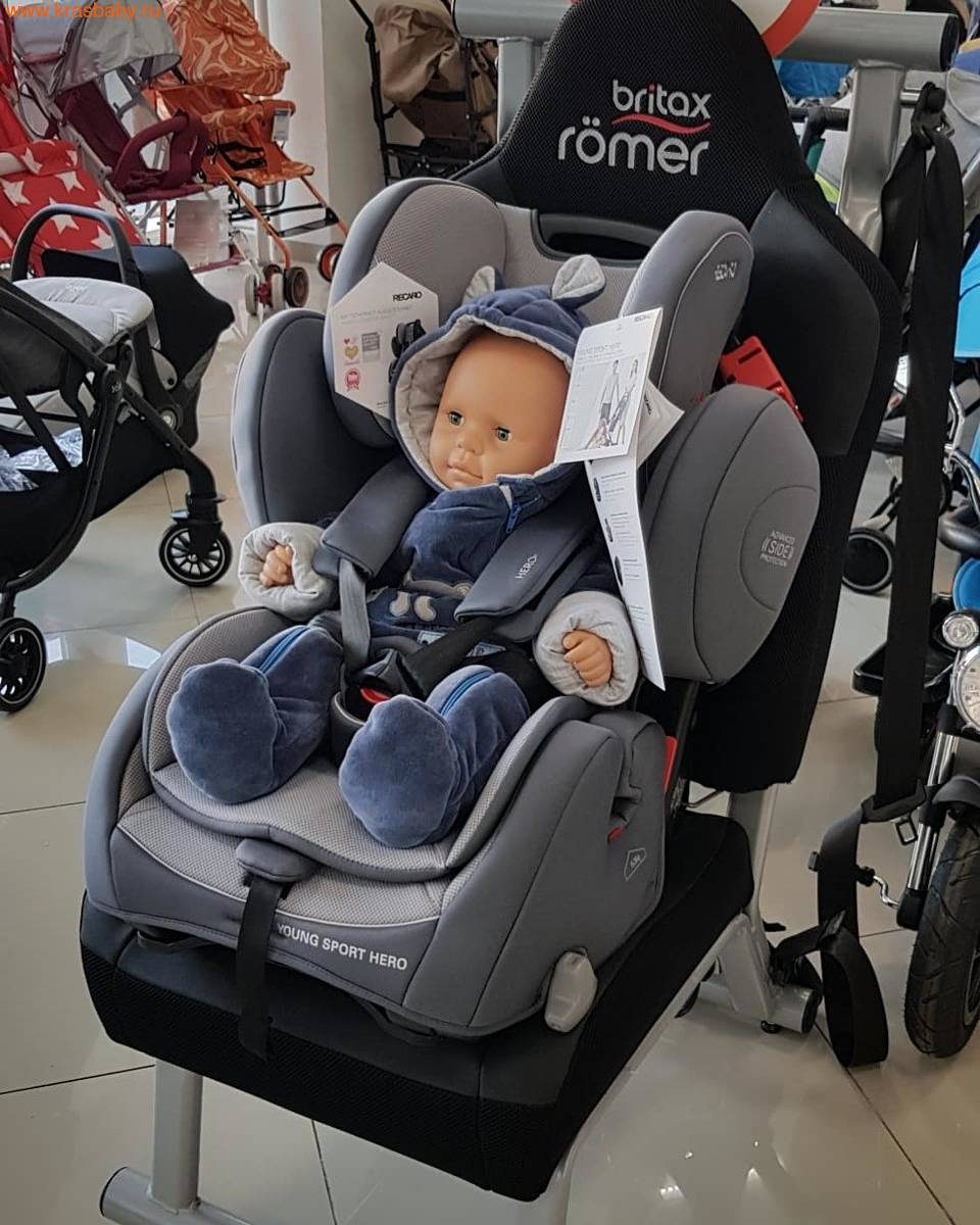 Автокресло RECARO Young Sport Hero (9-36 кг) (фото, вид 4)