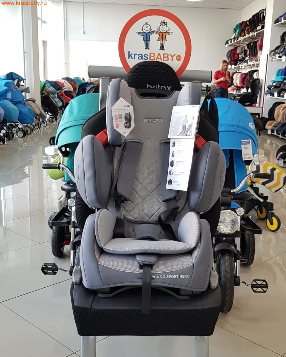 Автокресло RECARO Young Sport Hero (9-36 кг) (фото, вид 10)