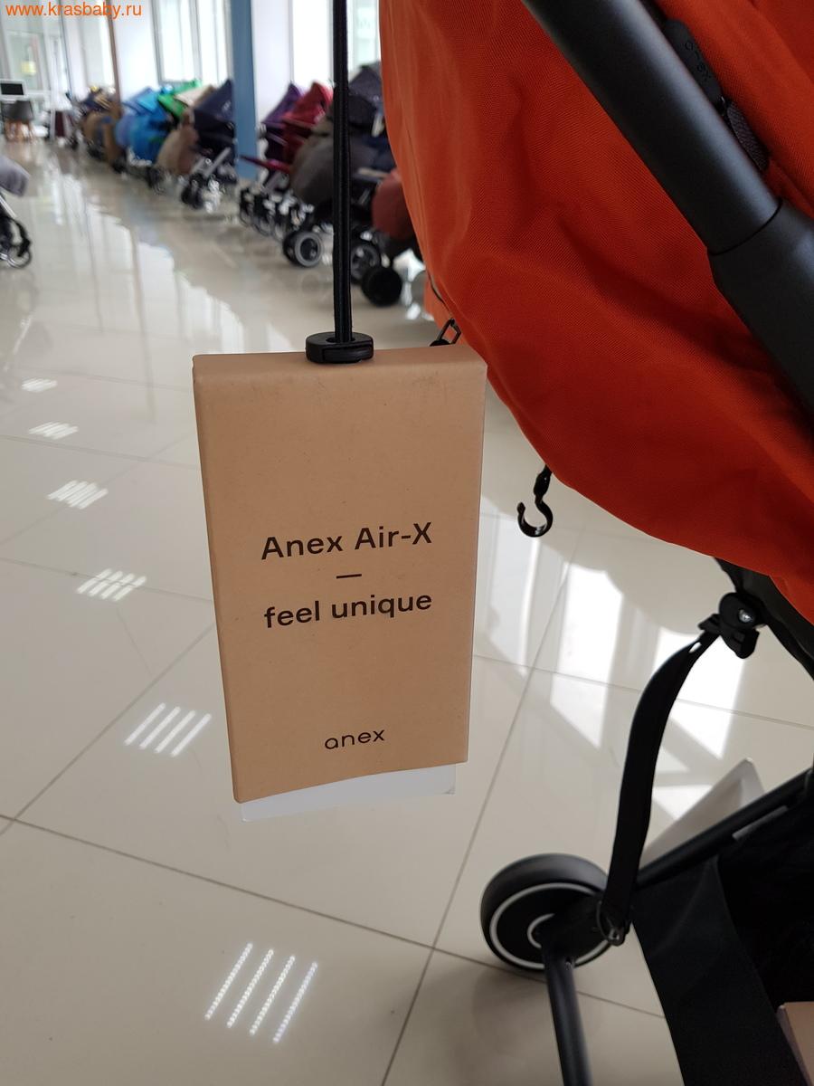 Коляска прогулочная ANEX AIR-X (вес 8,7кг) (фото, вид 10)
