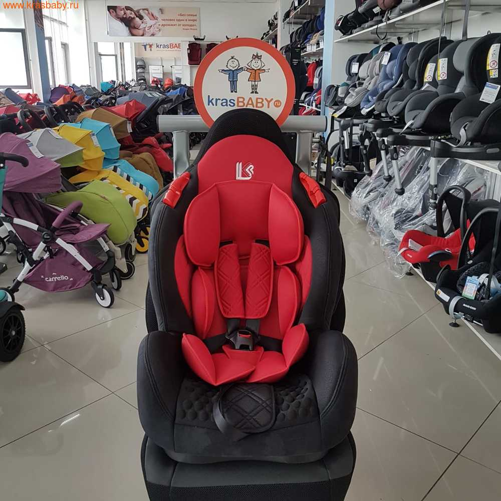 Автокресло LiTTLE KiNG BQ02 ISOFIX (9-25кг) (фото, вид 4)
